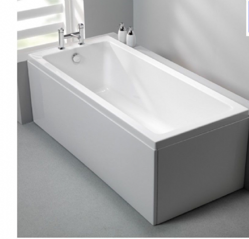 Carron Quantum 1500 x 700mm Plain Single Ended Bath